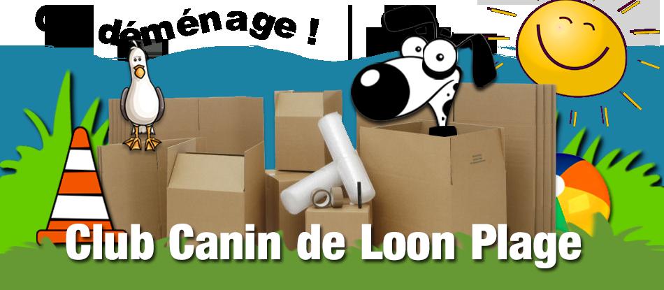 Le club canin de Loon-Plage (à côté de Dunkerque) Logo